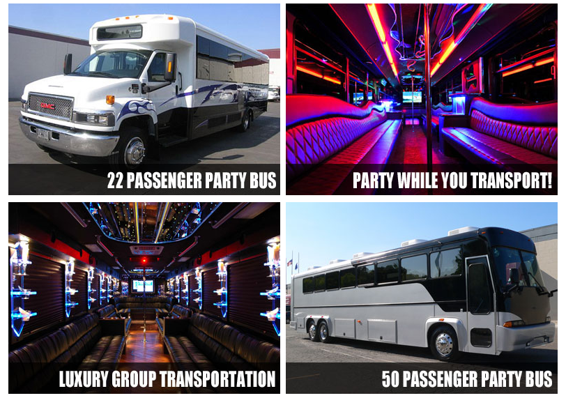 party bus Cloverleaf