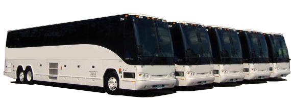 charter buses Texas